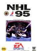 NHL 95 Genesis Front Cover