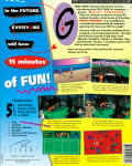 Wacky Funsters! The Geekwad's Guide to Gaming DOS Back Cover