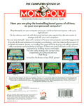 Monopoly DOS Back Cover