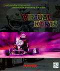 Virtual Karts DOS Front Cover