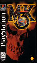 Mortal Kombat 3 PlayStation Front Cover