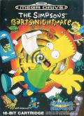 The Simpsons: Bart's Nightmare Genesis Front Cover