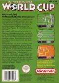 Nintendo World Cup NES Back Cover
