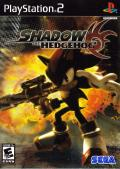 Shadow the Hedgehog PlayStation 2 Front Cover