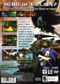 Shadow the Hedgehog PlayStation 2 Back Cover