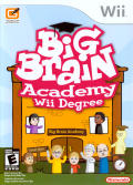 Big Brain Academy: Wii Degree Wii Front Cover