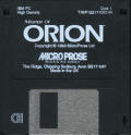 Master of Orion DOS Media Disk 1/4