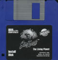 SimEarth: The Living Planet DOS Media Install disk