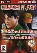 Delaware St. John: Volume 1: The Curse of Midnight Manor / Volume 2: The Town with No Name Windows Front Cover