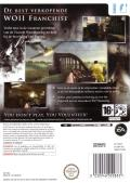 Medal of Honor: Vanguard Wii Back Cover