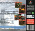 The Need for Speed PlayStation Back Cover