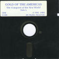 Gold of the Americas: The Conquest of the New World DOS Media Disk 1/2