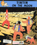 Tintin on the Moon DOS Front Cover