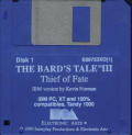The Bard's Tale III: Thief of Fate DOS Media Disk 1/2