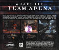 Quake III: Team Arena Windows Other Jewel Case - Back