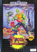 Toxic Crusaders Genesis Front Cover