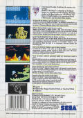 Shadow of the Beast SEGA Master System Back Cover