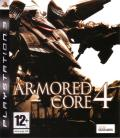 Armored Core 4 PlayStation 3 Front Cover