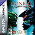 Bionicle Heroes Game Boy Advance Front Cover
