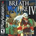 Breath of Fire IV PlayStation Front Cover