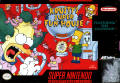 Krusty's Fun House SNES Front Cover