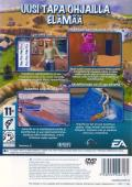 The Sims 2 PlayStation 2 Back Cover