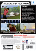 Tiger Woods PGA Tour 07 Wii Back Cover