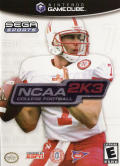 NCAA College Football 2K3 GameCube Front Cover