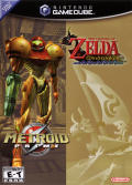 The Legend of Zelda: The Wind Waker / Metroid Prime GameCube Front Cover