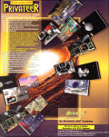 Wing Commander: Privateer DOS Back Cover