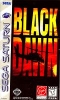 Black Dawn SEGA Saturn Front Cover