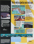 Mario Andretti's Racing Challenge DOS Back Cover
