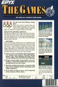 The Games: Winter Edition Atari ST Back Cover