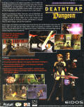 Ian Livingstone's Deathtrap Dungeon Windows Back Cover