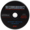 MechWarrior 2: Limited Edition DOS Media Ghost Bear's Legacy Disc