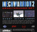 MechWarrior 2: Limited Edition DOS Other Ghost Bear's Legacy - Jewel Case - Back