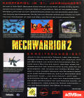MechWarrior 2: Limited Edition DOS Back Cover