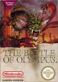 The Battle of Olympus NES Front Cover