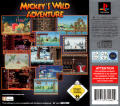 Mickey Mania PlayStation Back Cover