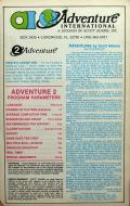 Pirate Adventure TRS-80 Back Cover