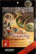 Wizardry: Knight of Diamonds - The Second Scenario Apple II Front Cover