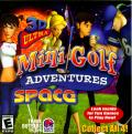 3D Ultra Mini Golf Adventures: Space Windows Front Cover