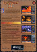 Ultima Underworld II: Labyrinth of Worlds DOS Back Cover
