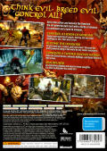 Overlord Xbox 360 Back Cover