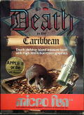 Death in the Caribbean Apple II Front Cover