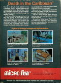 Death in the Caribbean Apple II Back Cover
