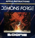 The Demon's Forge Apple II Front Cover