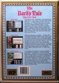 The Bard's Tale Trilogy Commodore 64 Back Cover