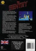 The Sentry Atari ST Back Cover
