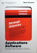 Strange Odyssey TI-99/4A Front Cover